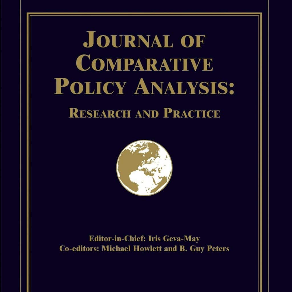 Journal of Comparative Policy Analysis