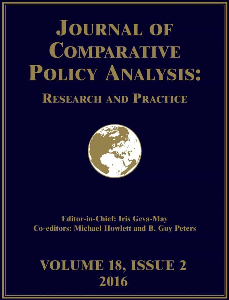 Journal of Comparative Policy Analysis 2016 vol 18 issue 5